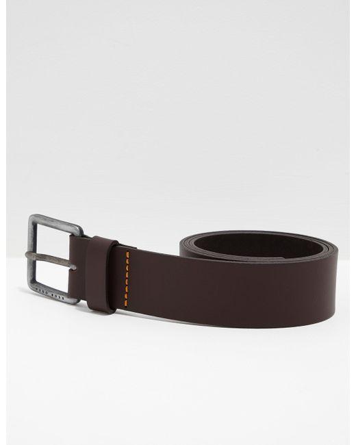 dfa6d7ae836b BOSS Jeeko Leather Belt Brown in Brown for Men - Save 47% - Lyst