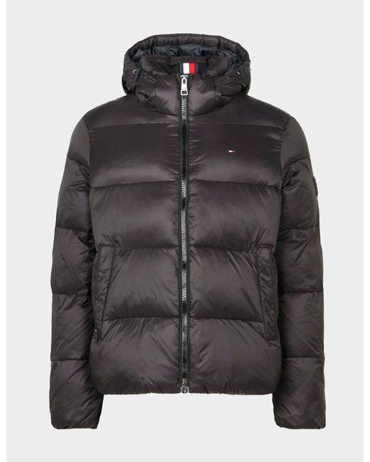 Tommy Hilfiger Black Padded Jacket - Exclusive for men