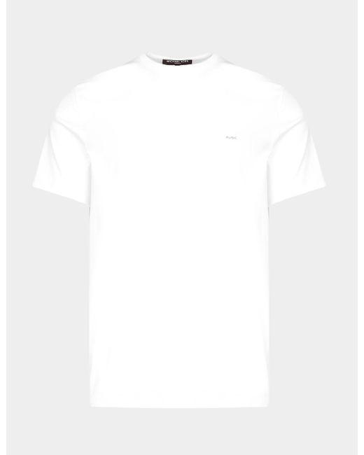 Michael Kors White Sleek T-shirt for men