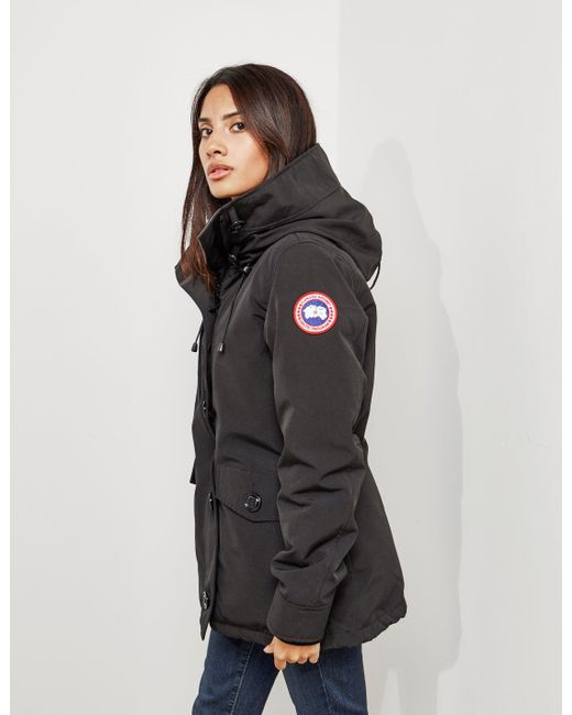 canada goose womens black jacket