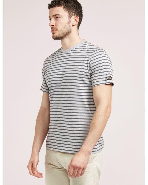 Barbour | Gray International Short Sleeve Darley T-shirt for Men | Lyst