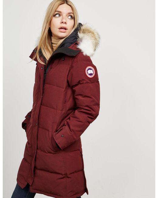 canada goose jacket shelburne