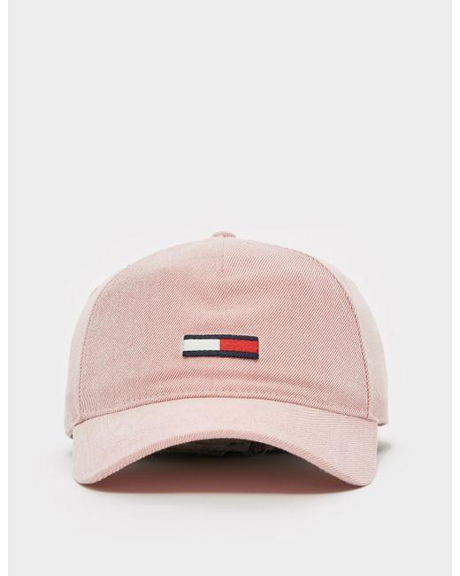 Tommy Hilfiger Pink Flag Wash Cap