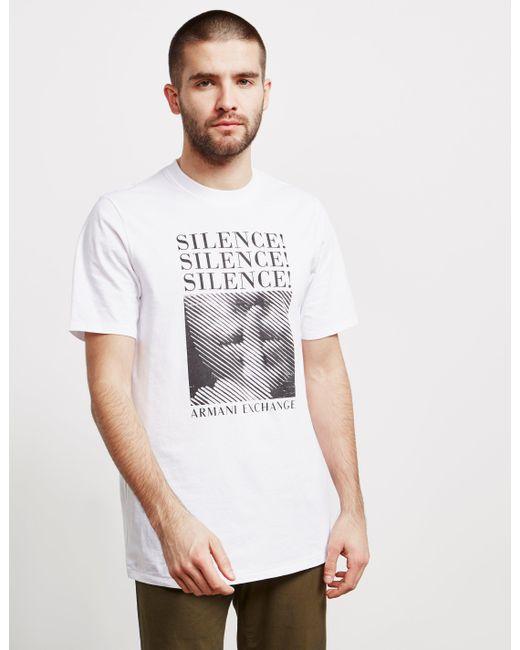edb96b36 Men's Silence Short Sleeve T-shirt - Online Exclusive White