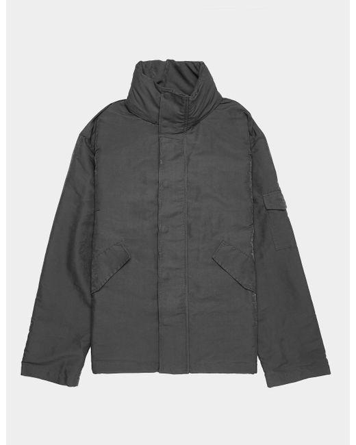 WOOD WOOD Gray Skipper Hooded Jacket for men
