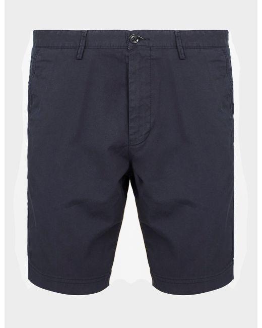 BOSS by Hugo Boss Slice Chino Shorts Blue for men