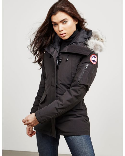 Canada Goose Goose Montebello Padded Parka Jacket Black Lyst
