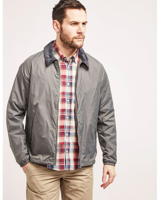Barbour | Gray Lundy Casual Jacket for Men | Lyst
