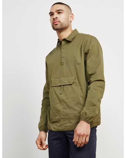 Penfield - Green Mens Adelanto Overhead Overshirt - Online Exclusive Olive/olive for Men - Lyst