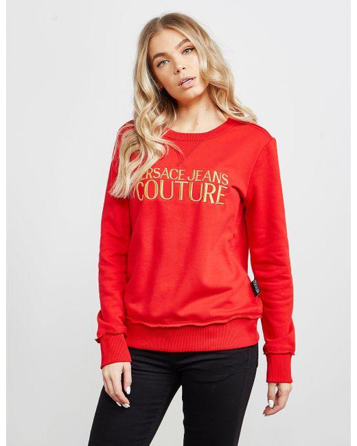 Versace Jeans Embroidered Logo Sweatshirt