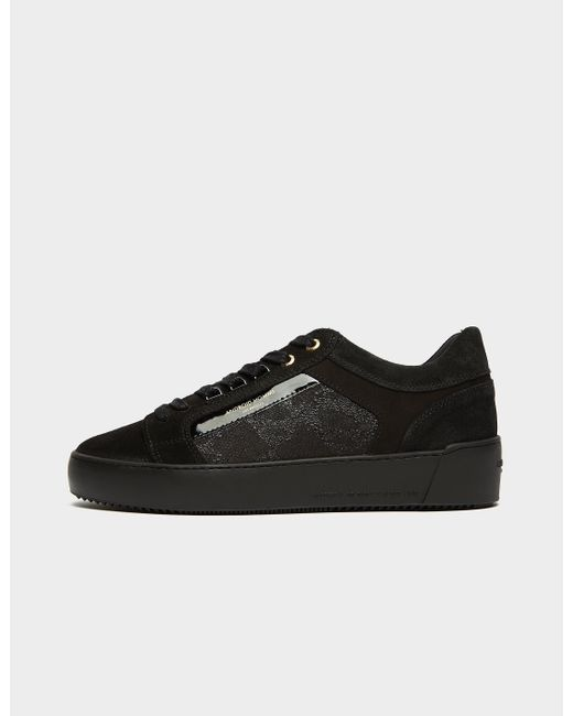 Android Homme Black Venice Python Matte Trainers - Exclusive for men