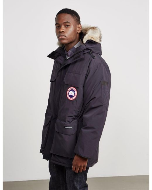 Canada Goose - Mens Expedition Padded Parka Jacket Blue for Men - Lyst ...