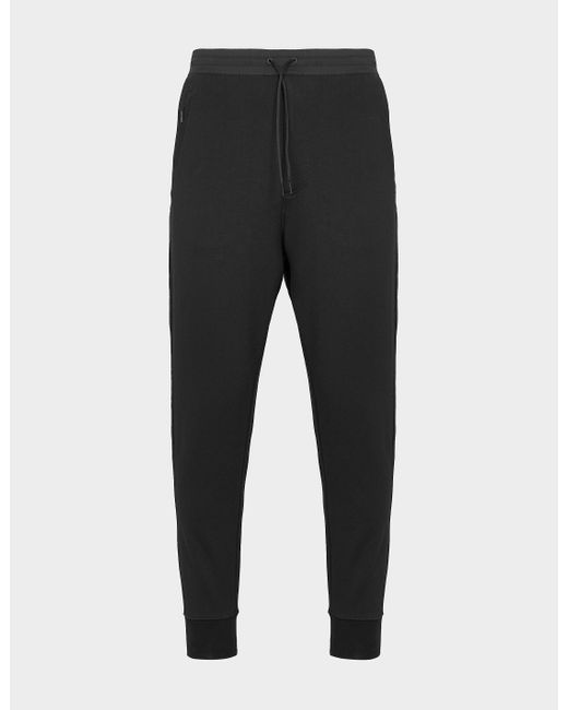Y-3 Black Classic Logo Track Pants for men