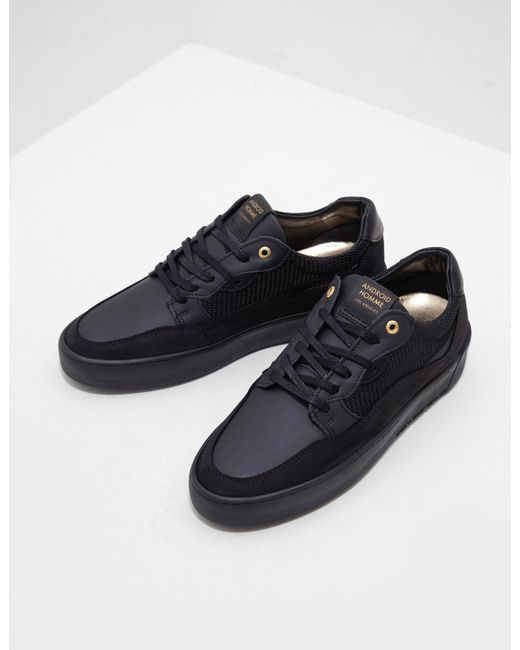 0e383c66f78 Android Homme - Omega Arc Trainers Black for Men - Lyst ...