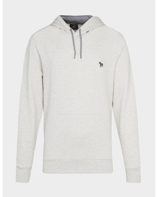 PS by Paul Smith Natural Basic Zebra Hoodie for men