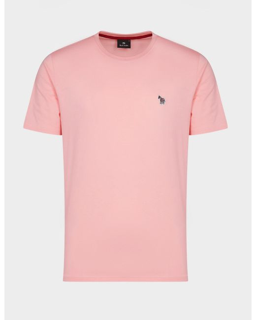 PS by Paul Smith Pink Basic Zebra T-shirt for men