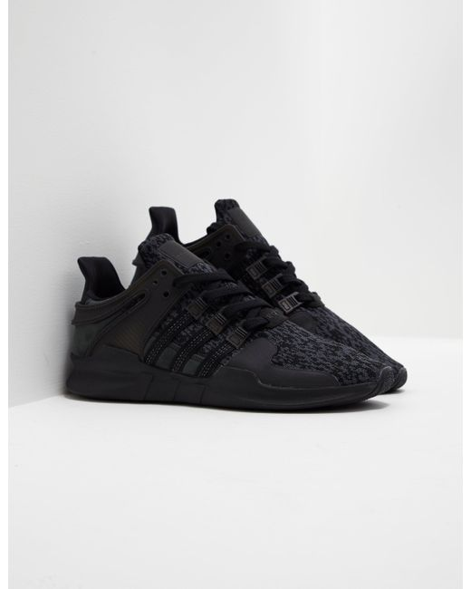 on sale 8b5fa 14e34 ... free shipping adidas originals mens eqt support adv black for men lyst  7a63f 8b3fd
