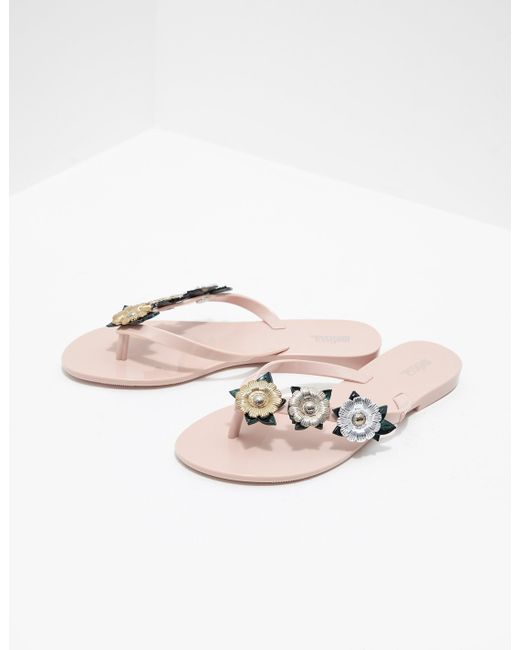 designer fashion in stock speical offer Melissa Synthetic Harmonic Flip Flops Pink - Lyst