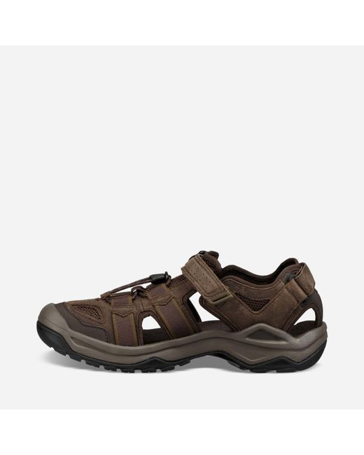 04f304593ae3a9 ... Teva - Brown Omnium 2 Leather for Men - Lyst ...
