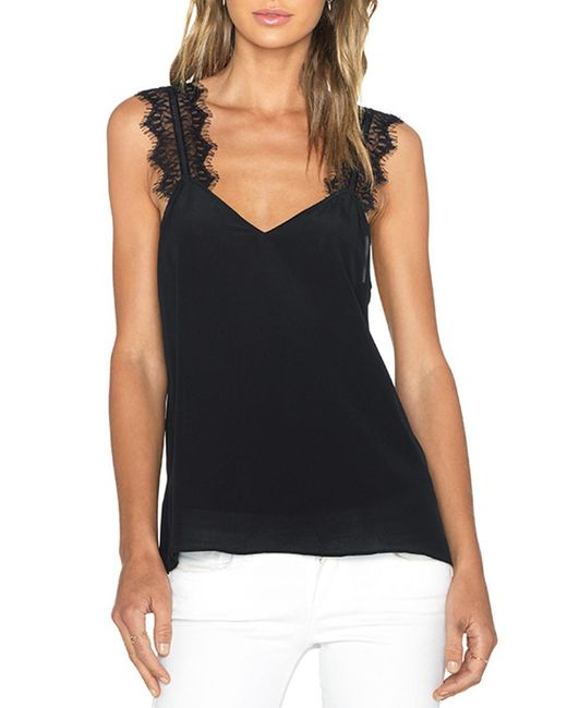 Cami NYC - Black Chelsea Charmeuse Camisole - Lyst