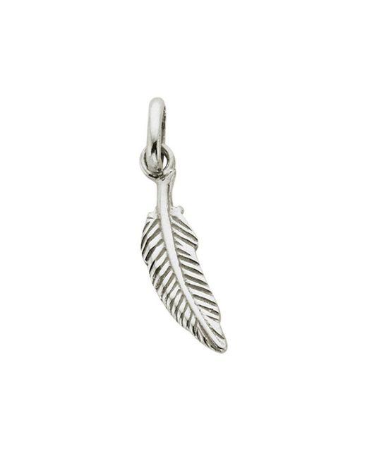 KIRSTIN ASH Metallic Bespoke Feather Charm