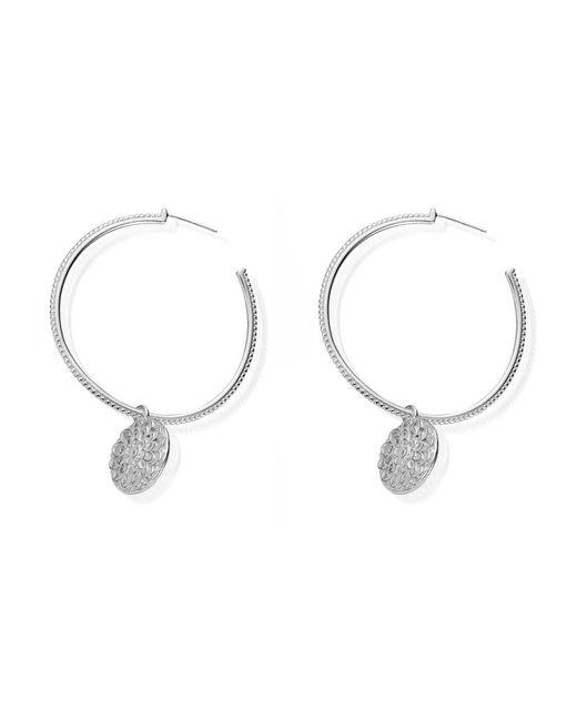 ChloBo - Metallic Cherabella Moon Flower Earrings - Lyst