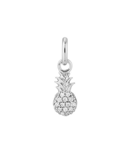 KIRSTIN ASH - Metallic Bespoke Crystal Pineapple Charm - Lyst