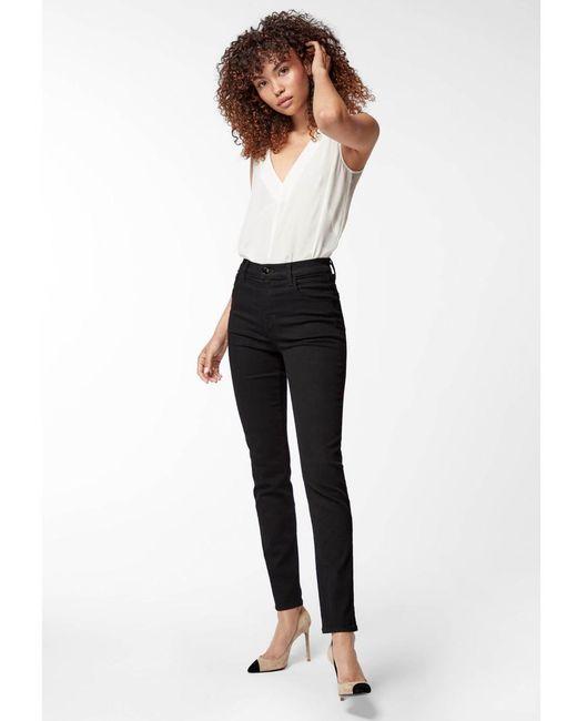 c48d2d9ef435 ... J Brand - Black Ruby 30 High Rise Cigarette Leg Jeans - Lyst ...