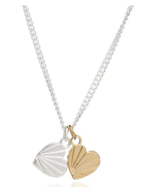 Rachel Jackson - Pink Good Vibes Heart Necklace - Lyst