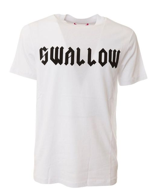 McQ Alexander McQueen - White Swallow T-shirt for Men - Lyst