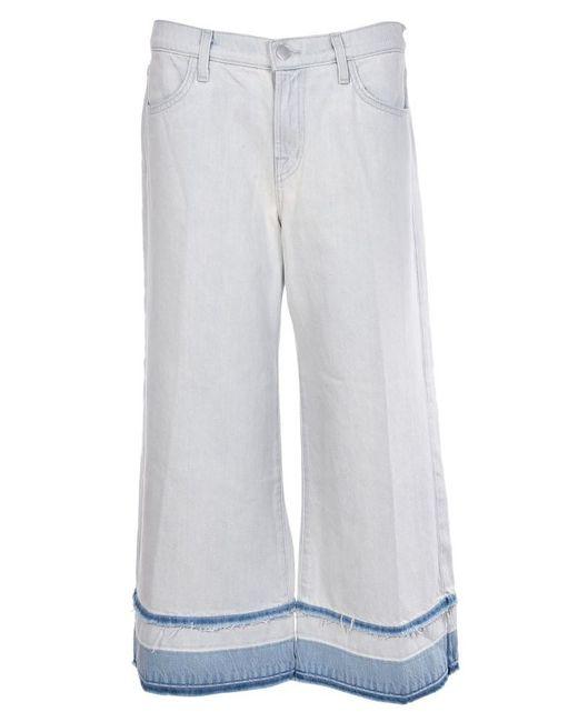 J Brand - Multicolor Liza Mid-rise Culotte Jeans - Lyst