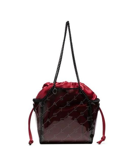 62a12202feb8 Stella McCartney - Multicolor Falabella Transparent Tote Bag - Lyst ...