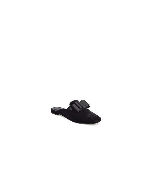 Joie | Black Jean Velvet Loafers | Lyst