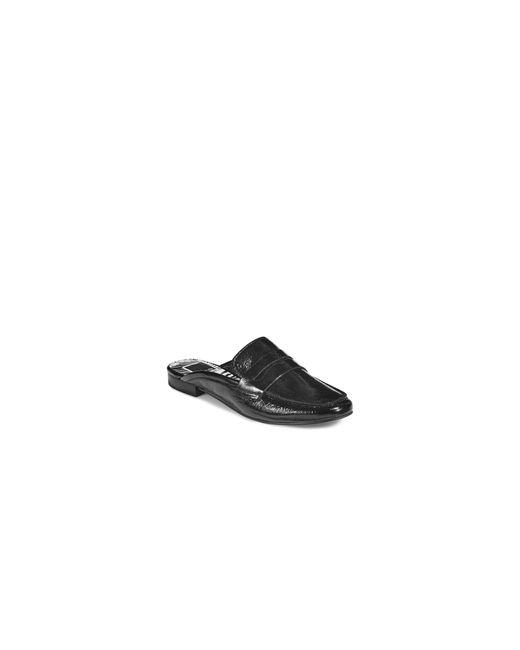 Dolce Vita | Black Cybil Leather Slip-on Loafers | Lyst