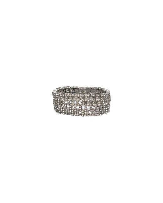 Anne Klein | Metallic Wide Stretch Bracelet | Lyst