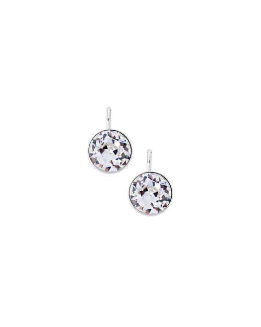 Swarovski   Metallic Bella Crystal Pierced Earrings   Lyst