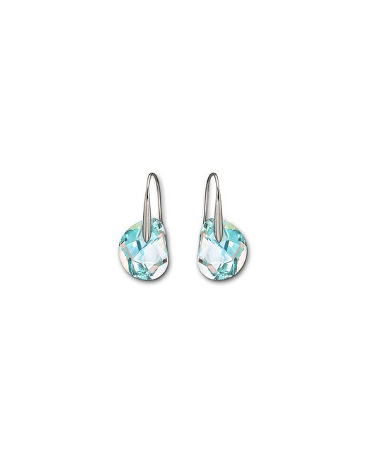 Swarovski | Blue Galet Pierced Earrings | Lyst