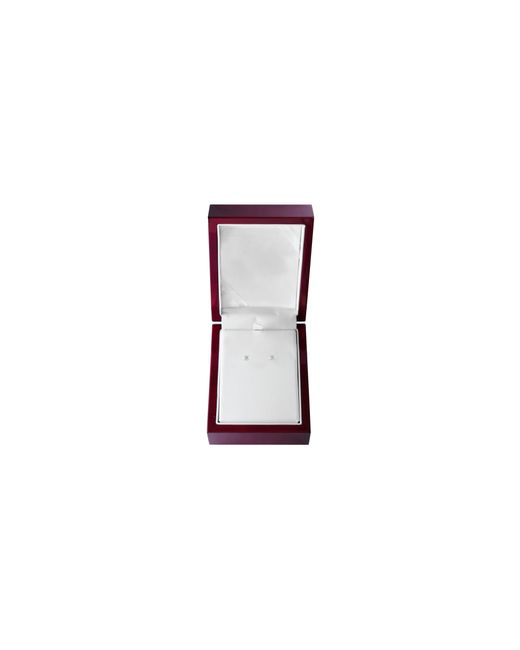 Effy | Metallic 14k White Gold Stud Earrings With 0.33 Total Carat Weight Diamonds Box Set | Lyst