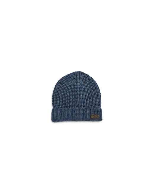 Polo Ralph Lauren | Blue Wool-alpaca-blend Ribbed Tuque | Lyst