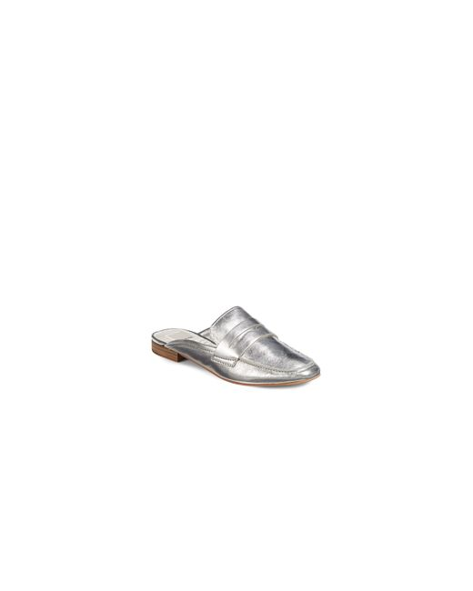 Dolce Vita | Metallic Cybil Leather Slip-on Loafers | Lyst