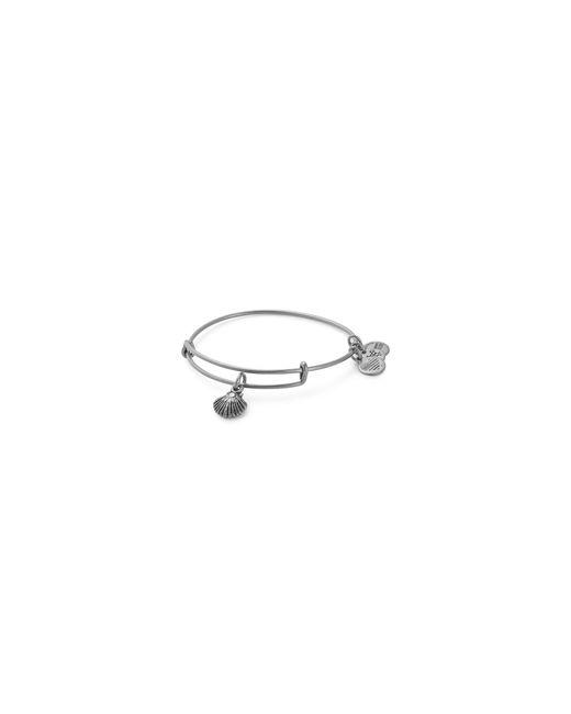 ALEX AND ANI | Metallic Swarovski Crystal Sea Shell Adjustable Bracelet | Lyst