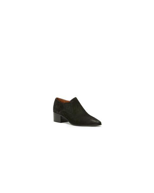 Frye | Black Leather Western Booties | Lyst