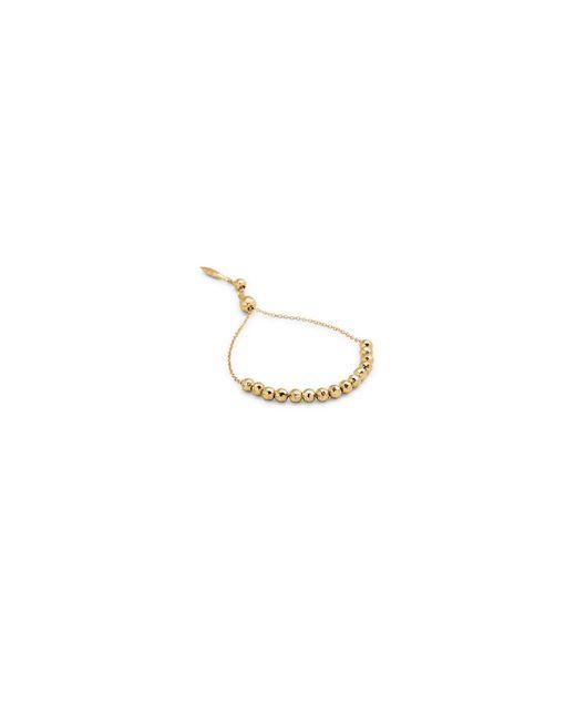 Gorjana   Metallic Large Bead Adjustable Bracelet   Lyst