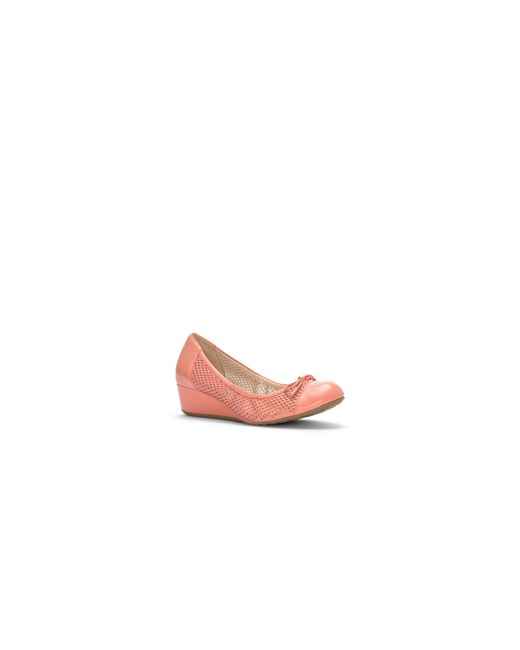 Cole Haan | Pink Tali Leather Wedge Pumps | Lyst