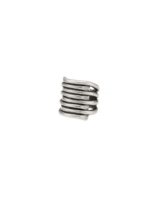 Uno De 50 - Metallic Tornado Ring - Lyst