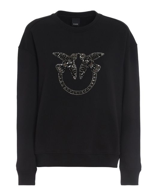 Pinko Black Nelly 2 Sweatshirt