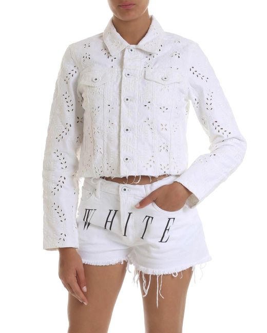 Giubbino di Off-White c/o Virgil Abloh in White