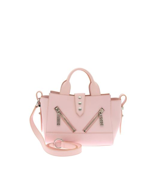 KENZO - Pink 'mini Kalifornia' Shoulder Bag - Lyst
