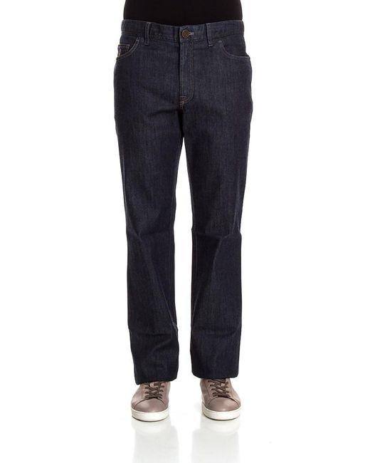Brioni - Blue Five Pockets Jeans for Men - Lyst