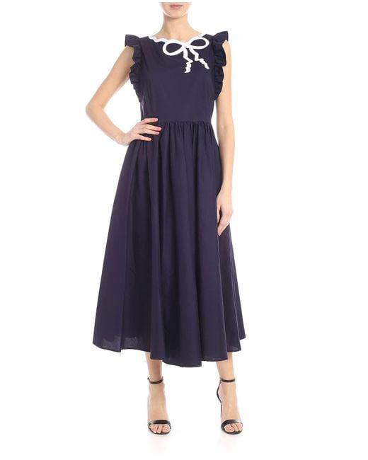 Vivetta Blue Sona Dress
